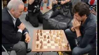 Patrick Bruel   Garry Kasparov partie d'échec