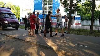 Драка в парке Степанова 23.06.2018