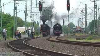 ドイツ Neustadt蒸気機関車イベント 蒸気機関車撮影ツアー 41型52型特集 (2014年5月) Steam locomotive of Germany