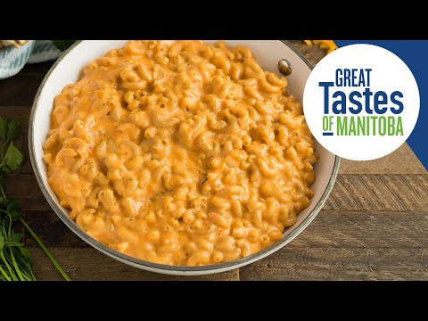 How To Make Butternut Squash Mac & Cheese-- Dairy Best Comfort Foods