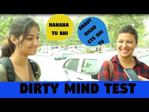 Dirty Mind Test -Delhi Girls Openly Talking About Balloon   Double meaning question babajikagyan