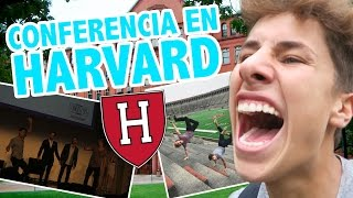 DI UNA CONFERENCIA EN HARVARD / Juanpa Zurita