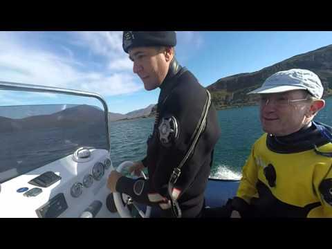 A  2minute Boat trip round kerrera island taking in Mull & Oban