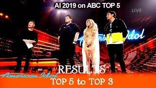 RESULTS Who Made It To Finale Top 3? Eliminated?  | American Idol 2019