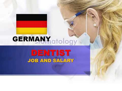 Dentist Salary In Germany - Jobs And Wages In Germany