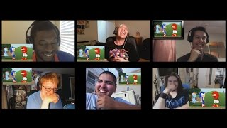 Multiman Reaction: Knuckles VS Applejack by AnimatedJames!