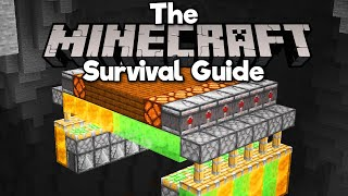 Vertical Redstone Flying Machines!▫ The Minecraft Survival Guide (Tutorial Let's Play) [Part 286]