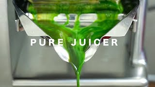 PURE JUICER // HYDRAULIC COLD PRESS JUICER
