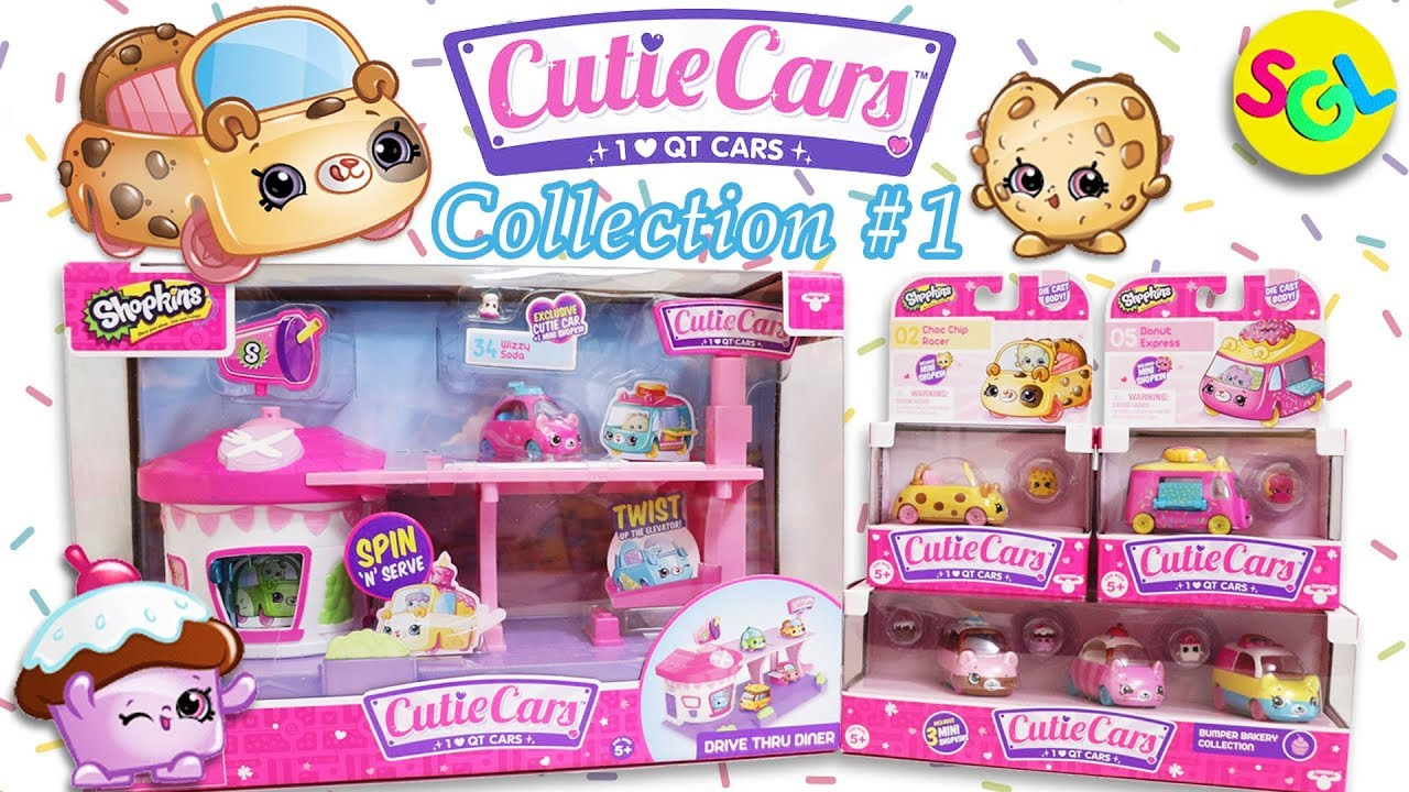 EXCLUSIVE #34 WIZZY SODA CAR NEW! SHOPKINS CUTIE CARS DRIVE THRU DINER PLAYSET
