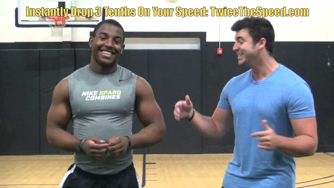 """How To Sprint"" Faster - Speed Training Drills For Football Players"