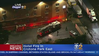 Hotel Fire In The Bronx
