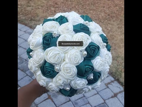 $39.99 DIY Budget Bridal Brooch Bouquet Easy Tutorial Kit Ro