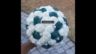 $39.99 DIY Budget Bridal Brooch Bouquet Easy Tutorial Kit Rosey