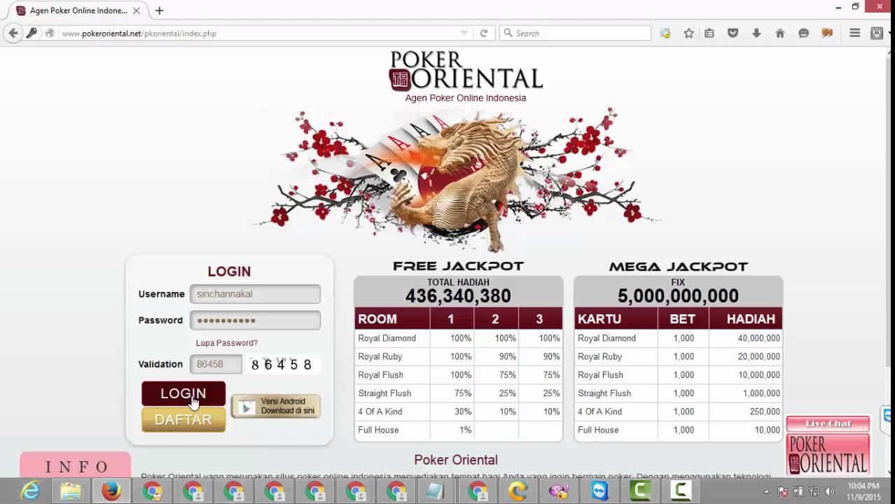 Cara Daftar Judi Poker di Agen Poker Online Indonesia ...