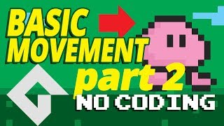 Game maker Studio 2 - Basic movement - Part 2 - no coding. (Change directions)