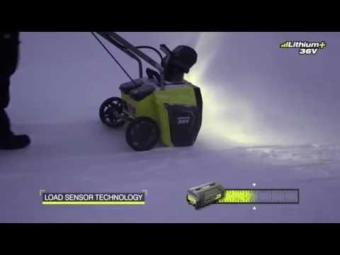 Unika Snöslunga Ryobi RST36B51 36 V, exkl. batteri | Granngården OK-39