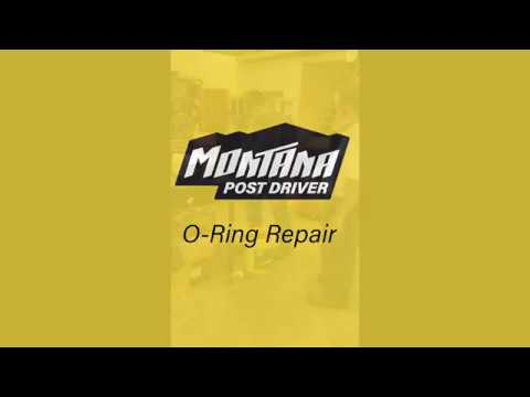 O-Ring Rebuild | Montana Post Driver
