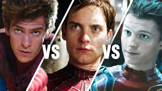 Who Is the Best Spider-Man? | Tobey Maguire vs. Andrew Garfield vs. Tom Holland | Rotten Tomatoes