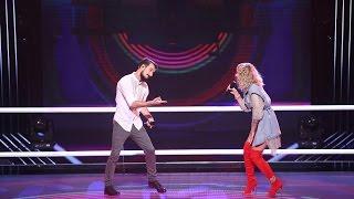 Rucsandra Iliescu & Vlad Constantin – Can't Stop The Feeling | Confruntari | Vocea Romaniei 2016