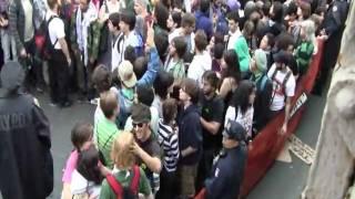 #occupywallstreet - Brooklyn Bridge Arrests