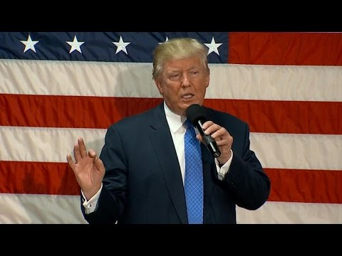 Full Video: Trump holds town hall in N.H., talks job creation