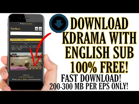 Download How to download Kdrama with eng sub on phone
