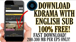 How to download Kdrama with eng sub on phone
