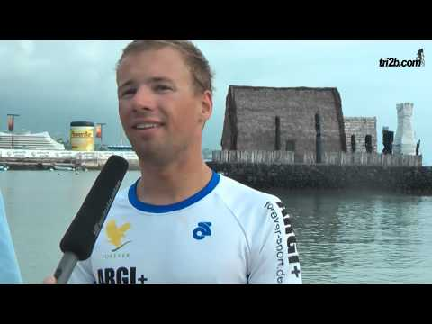 Ironman Hawaii 2013: Stefan Schmid Interview an der Finishline