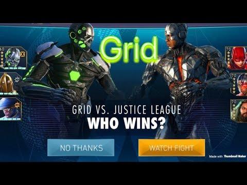 Injustice 2 mobile Grid 🤔