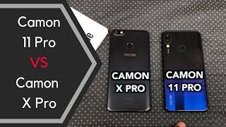 TECNO Camon 11 Pro vs Camon X Pro: Which Should You Buy? - Speed Test and Camera Comparison Review
