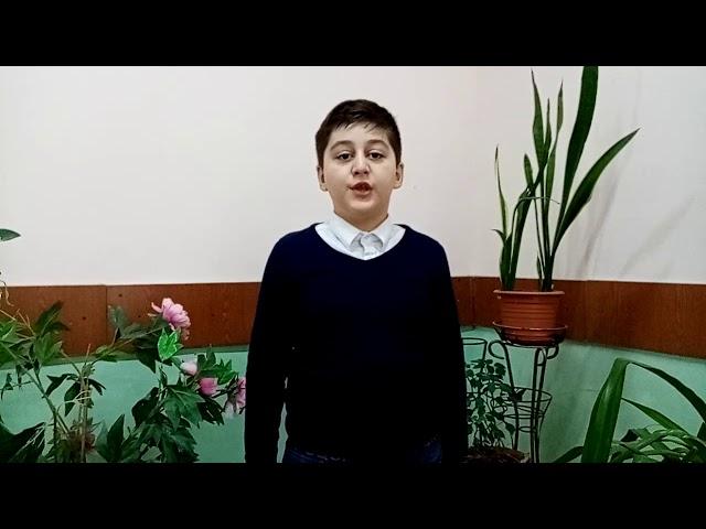 Изображение предпросмотра прочтения – ХачатурВарданян читает произведение «Звезды» С.А.Есенина