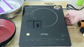 Mở hộp bếp từ cảm ứng goldsun premium GPI T51
