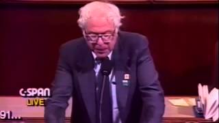 Bernie Sanders: NAFTA and National Priorities (5/20/1991)