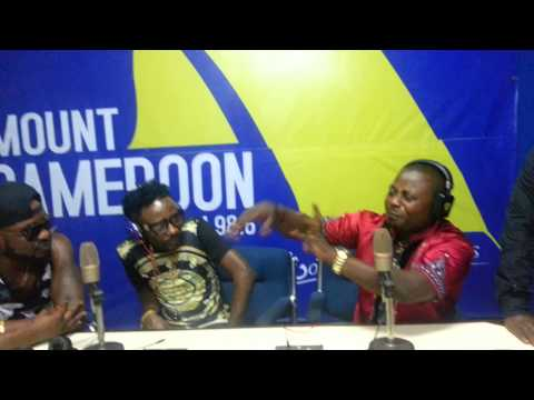 Pbrodaz live @Mount Cameroon Fm Buea. (Part one)