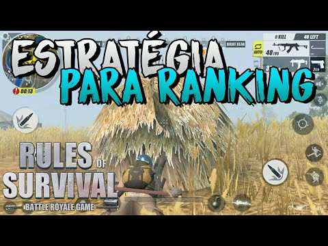 Rules of Survival - Estratégia para Subir Rank Solo + Explicando Acessórios das Armas