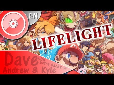 """SUPER SMASH BROS ULTIMATE """"Lifelight"""" - ENGLISH Cover  DAVE Backs by ANDREW & KYLE"""