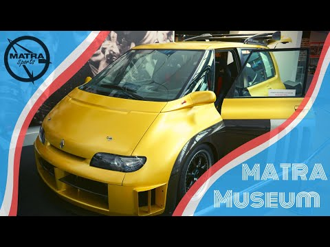Matra Museum -- Race-Cars, Van´s and Prototypes --