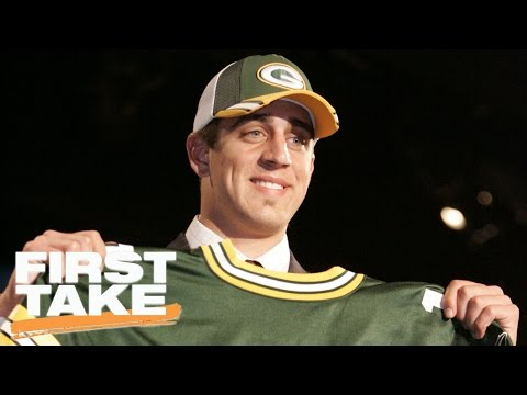 Stephen A. And Max's Back-And-Forth On Aaron Rodgers, 2005 NFL Draft   First Take   April 26, 2017
