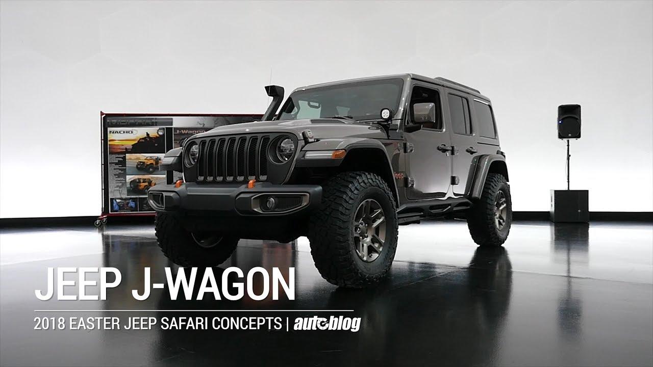 Jeep J Wagon Concept 2018 Easter Safari