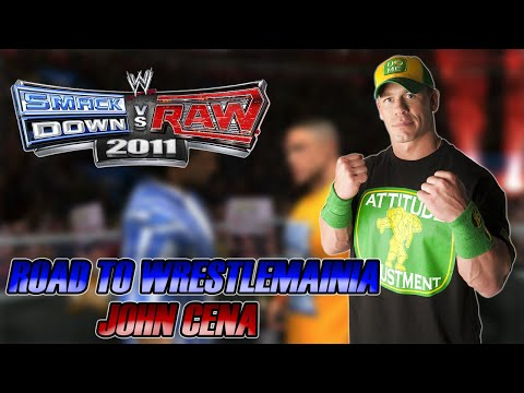 WWE SmackDown vs Raw 2011 - Road to Wrestlemania: John Cena - #06 - SOMOS TRAÍRA?????