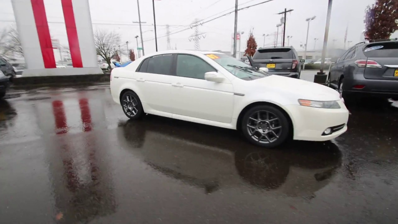 2007 Acura Tl Type S Navigation >> 2007 Acura Tl Type S Navigation White Diamond Pearl 7a038782 Kent Tacoma