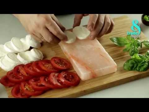 Persian Salt-Block - Tomato And Mozzarella Salad (Cold Recipe)