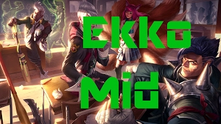 League of Legends - Ekko Mid - Normal - Full Gameplay - No Commentary