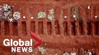 Coronavirus outbreak: Brazil cemetery is a grim reminder of a country in the grips of a pandemic