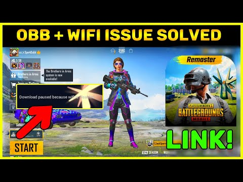 Pubg Mobile 1.0 Downloading Link || Wifi + Obb Problem Solved (Hindi)