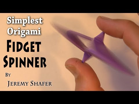 Simplest Fidget Spinner