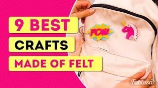 9 best crafts made of felt!   Tips & Tricks