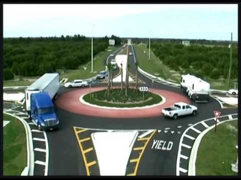 Modern Roundabouts - Pedestrian, Bicyclists and Motorists