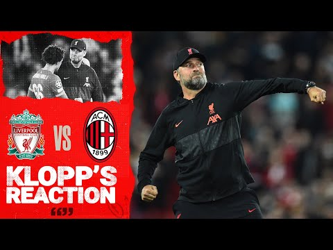 Klopp Reaction: The Boss on Victory, Squad Rotation, and Divock Origi |  Liverpool vs AC Milan