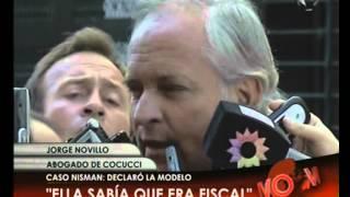 Canal 26 -Caso Nisman: declaró Florencia Cocucci ante Fein